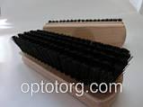 Щетка для обуви качество 14*5 см черный, фото 3