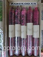 Свечи декоративные красный мрамор