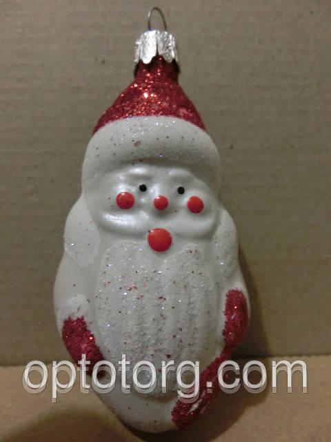 Новогодние игрушки на елку дед мороз 9*5