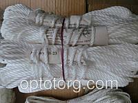 Веревка бельевая шнур В-23 белая 4 мм*15 м
