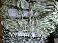 Веревка бельевая шнур жесткий 5мм*20м зебра