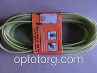 Веревка бельевая трос+пластик 3.5 мм*12м