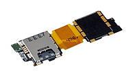 Шлейф Samsung G900 (S5) с коннектором SIM-карты