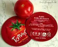 Tomatox Magic White Massage Pack - отбеливающая массажная маска пробник