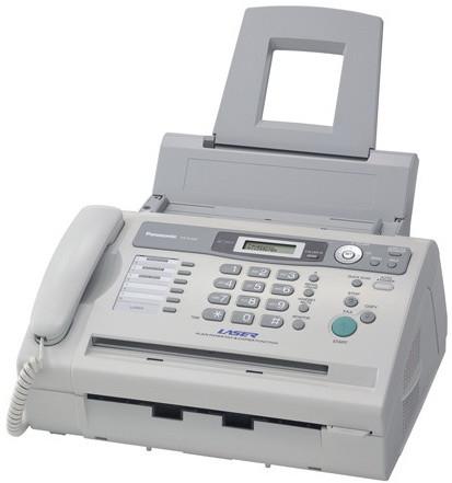 факс panasonic KX-FL 403 лазерный, на бумаге