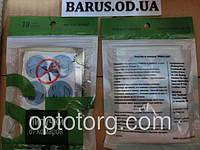 Липучка- отпугиватель от комаров GREENLEAF 6 кружочков