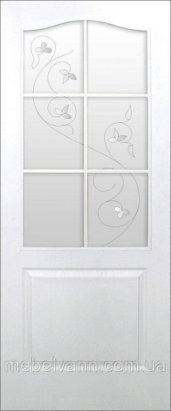 Дверное полотно Классика СС+КР ПВХ