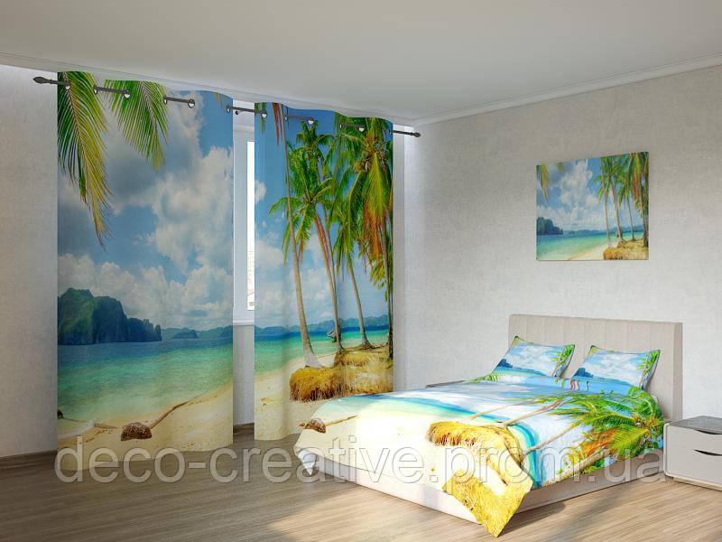 Фотокомплекты пальмы у моря