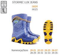 Резиновые сапоги DEMAR STORMIC LUX PRINT j (Джинс)