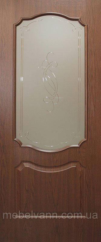 Дверное полотно Прима СС+КР ПВХ