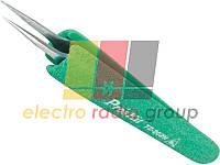 Пінцет монтажний Pro'sKit TZ-202N антистатичний, прямий, 120,5 мм