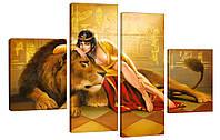 Модульная картина 272 царица египта