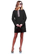 Нежное женское кашемировое пальто Осень арт. Кристи, фото 3