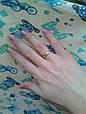Обручальное кольцо классическое, под золото, покрытие золото 18К, бижутерия, розовое золото, красное золото, фото 6