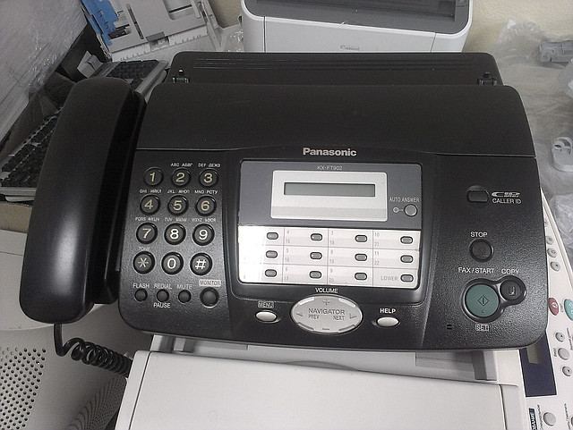 БУ факс panasonic kx-ft902