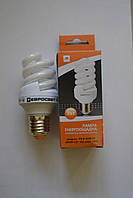 Спиральная энергосберегающая лампа 9 Вт S-9-2700-27