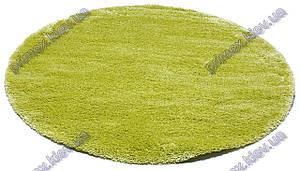 Ворсистый ковер Фристайл shaggy, однотонный, цвет лайм