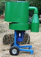 Измельчитель зерна, сена и соломы (380 В, 4 кВт, 500 кг/час)