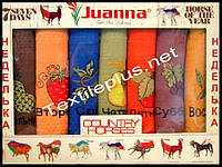 Вафельные полотенца кухоные Juanna