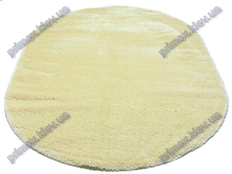 Ворсистый ковер Фристайл shaggy, однотонный, цвет кремовый