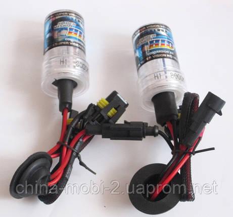 HID XENON H1 6000K/12V/35W - комплект ксеноновых ламп для автомобиля , фото 2