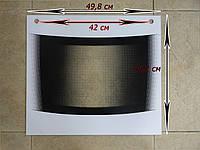 Стекло термостойкое внешнее плиты Гефест 3200.15.2.000-01 (498х442 мм)