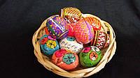 Деревянное яйцо для пасхального декора, 3-3,5 см., 8/6 (цена за 1 шт. + 2 гр.)