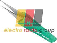 Пінцет монтажний Pro'sKit TZ-212N антистатичний, прямий, 129 мм
