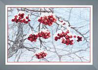 """Набор для частичной вышивки крестиком Crystal Art """"Зимний набросок"""" ВТ-505"""