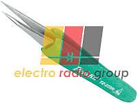 Пінцет монтажний Pro'sKit TZ-225N антистатичний, прямий, 120.5 мм
