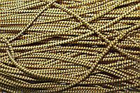 Резинка круглая, шляпная 2.5мм, желтый+черный, фото 1