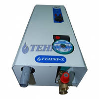Электрический ТЭНовый водогрейный котёл с встроенным насосом TEHNI-X кэт 6 Премиум 6 кВт 220/380 В три ступени