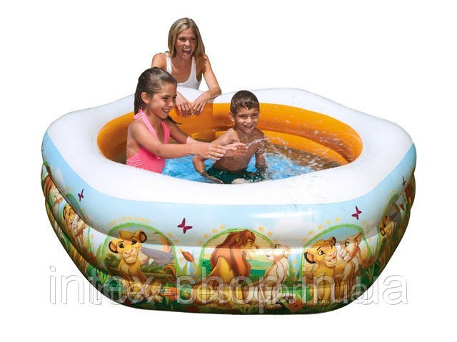 Детский надувной бассейн Intex 57497 (191х178х61 см.)