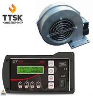 Комплект автоматики для котла на твёрдом топливе Tech ST81zPID+WPA120
