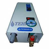 Электрический ТЭНовый водогрейный котёл с встроенным насосом TEHNI-X кэт 7 Премиум 7,5 кВт 220/380 В три ступе
