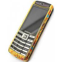 Мобильный телефон HERMES C19 2SIM, кнопочный мобильный телефон, телефон hermes, мобильник VIP-класса