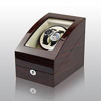Шкатулка для подзавода часов, тайммувер для 2-х часов Rothenschild RS-3024-EW