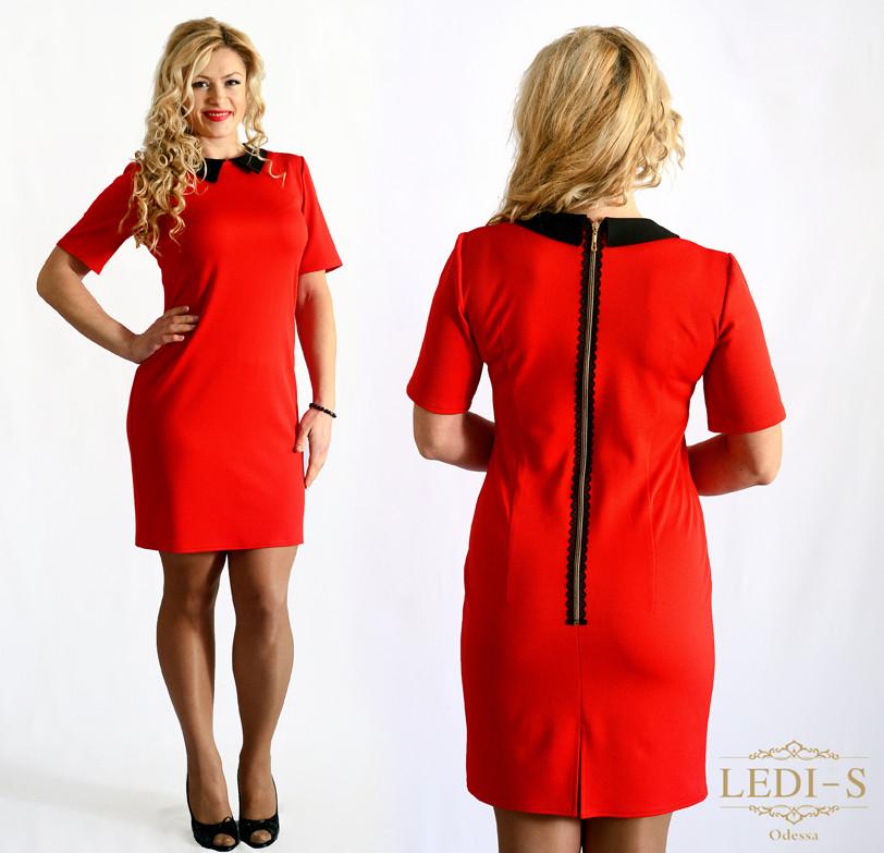 Женское платье Змейка (42-56) 8059