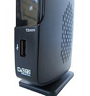 Цифровой эфирный DVB-T2 приемник Romsat T2 mini питание 12V