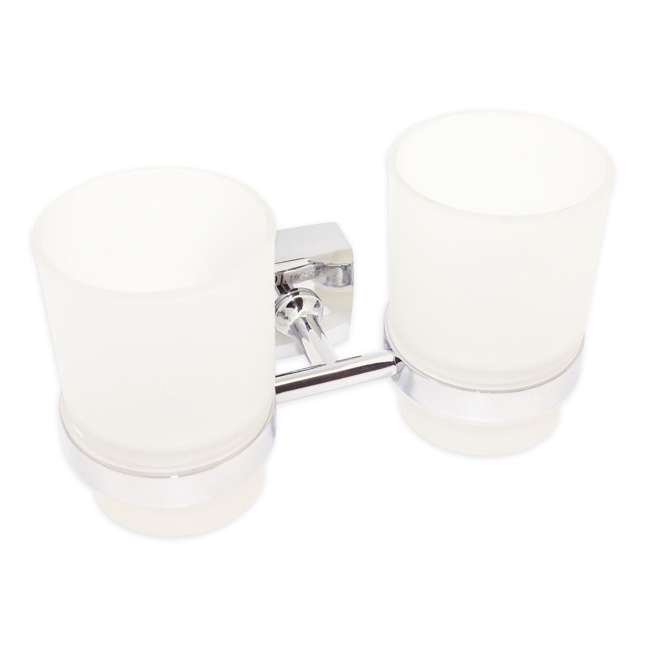 Стакан для зубных щеток Besser двойной 17*8.5*9.5см