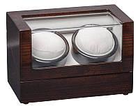 Шкатулка для подзавода часов, тайммувер для 2-х часов Rothenschild RS-1012-2-GGS