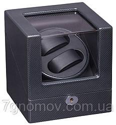 Скринька для підзаводу годин, тайммувер для 2-х годин Rothenschild RS-1051-2-TB