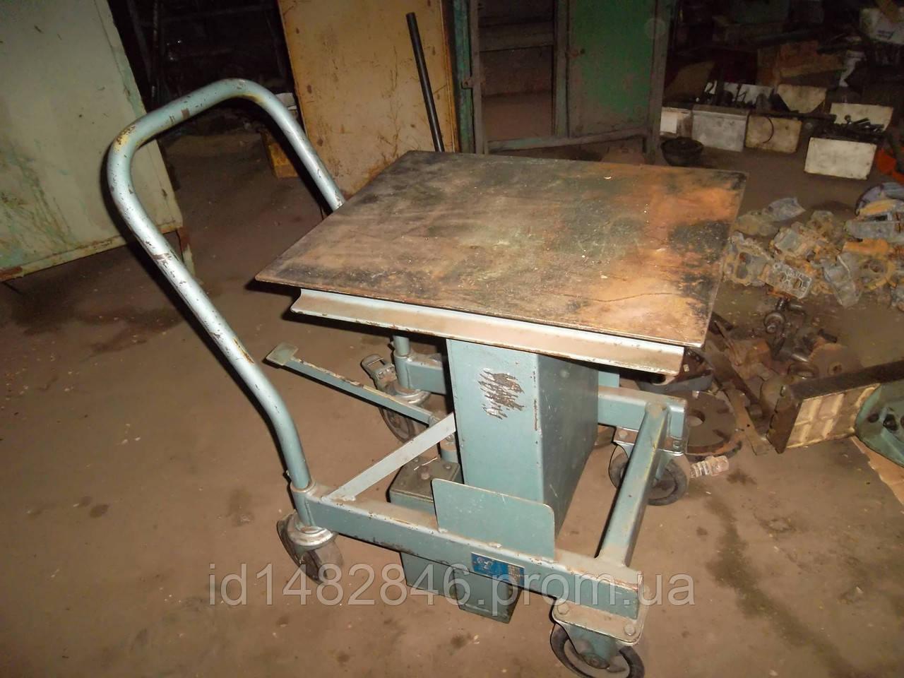 Стол подъемный гидравлический