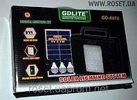 Универсальный портативный аккумулятор с солнечной панелью GDLite GD-8076