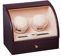 Шкатулка для подзавода часов, тайммувер для 2-х часов Rothenschild RS-322-2-EC