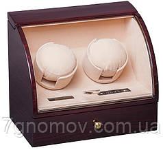 Шкатулка для підзаводу годинників, тайммувер для 2-хгодинників Rothenschild RS-322-2-EC