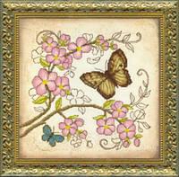 Набор для вышивания крестом Crystal Art Очарование весны ВТ-511