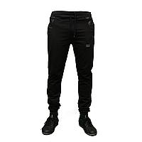 Молодежные зауженные трикотажные брюки под манжет с вставками  тм. AVCI пр-во. Турция KD1089