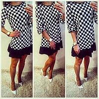 Платье Шахматка 307 (НКН)