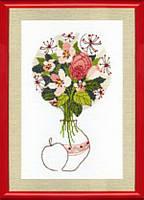 """Набор для вышивания крестом Crystal Art """"Цветение яблони"""" ВТ-045"""